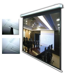 "92"" In-Ceiling Electric Projector Screen"