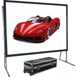 "250"" Foldable Rear Projector Screen 4:3"
