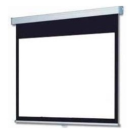"90"" MANUAL PROJECTOR SCREEN 16:9"