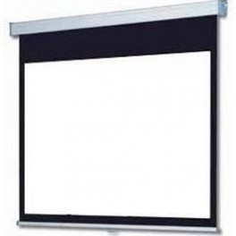 "89"" MANUAL PROJECTOR SCREEN 1:1"
