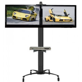 """TV Dual Mobile Stand 42""""-52"""""""