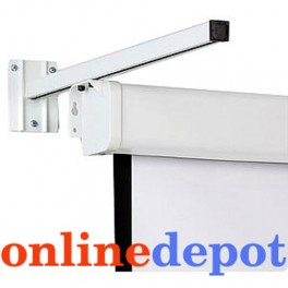 A Pair Wall Brackets for Projector Screens 550mm