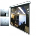 """100"""" In-Ceiling Electric Projector Screen"""