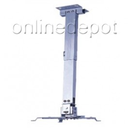 Projector Ceiling Mount 435-650mm White