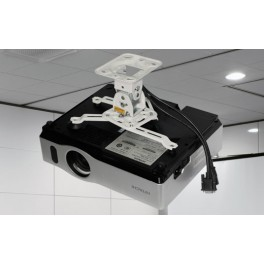 Projector Ceiling Mount  white Colour